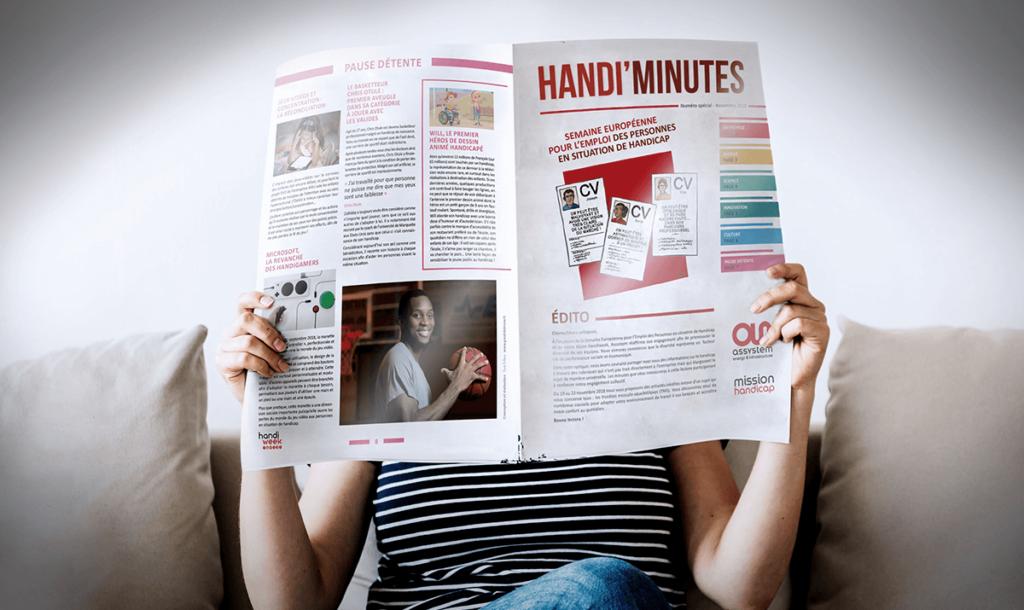 Aperçu journal Handi'Minutes
