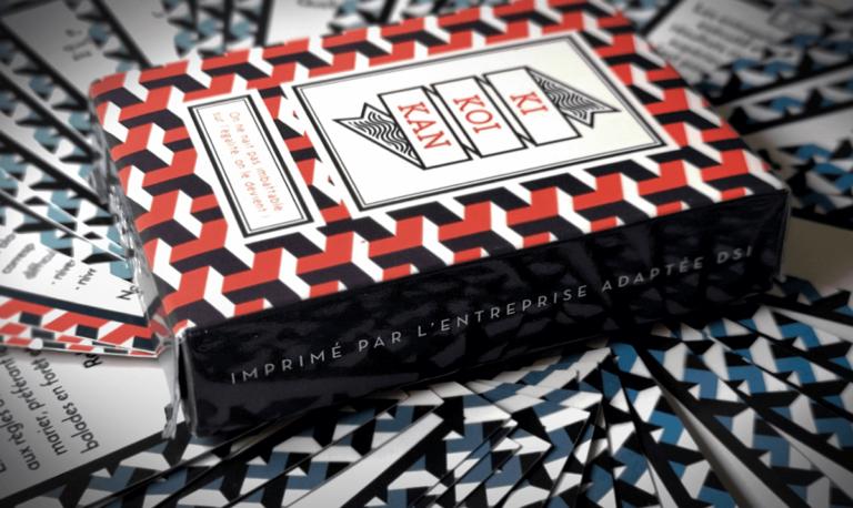 Présentation de la boite du jeu de carte Kikoikan